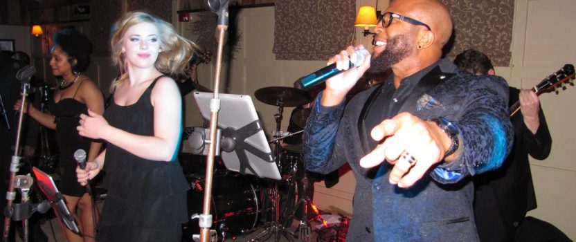 Jerome and Jackie performing at 4.2.16 Gibbet Hill Barn reception